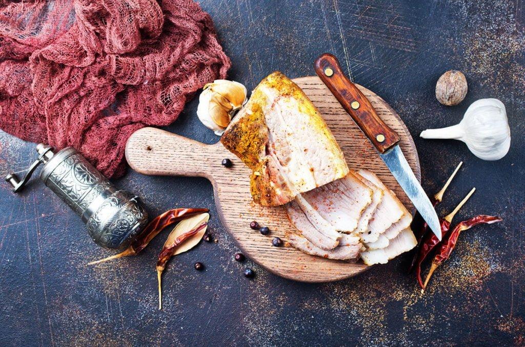 mięso upieczone w piecu